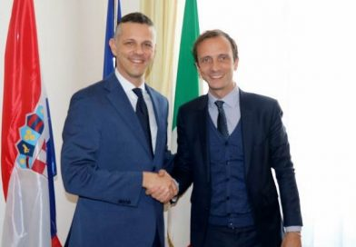 Prvi susret istarskog župana Flega s predsjednikom regije Friuli Venezia Giulia Fedrigom