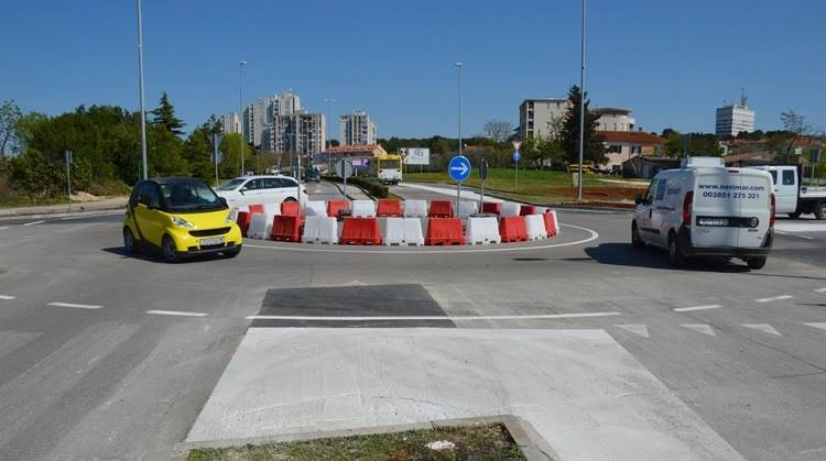 Privremeni kružni tok omogućit će sigurniju i znatno bržu protočnost prometa