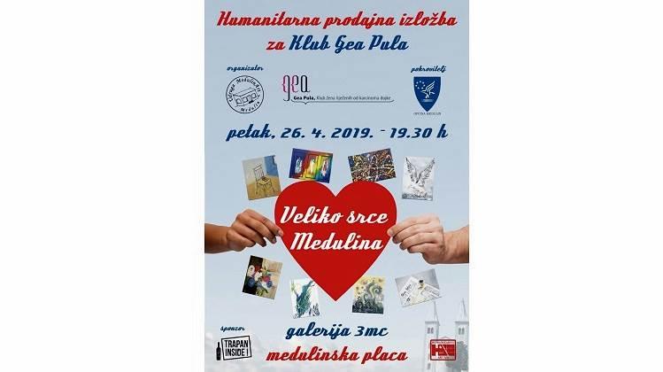 Aukcija Slika Medulinarta Za Klub Gea Pula Pulska