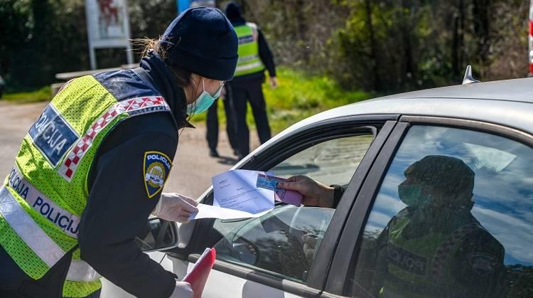 Od danas , od 16 sati moguće slobodno kretanje građana unutar područja bivših općina bez propusnica
