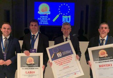 """Županijski projekt KeyQ+ Najbolji EU projekt u kategoriji  """"Doprinos prekograničnoj suradnji"""""""