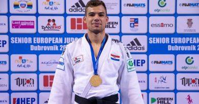 Pulski judaš Dominik Družeta osvojio zlato na Europskom kupu u Dubrovniku!